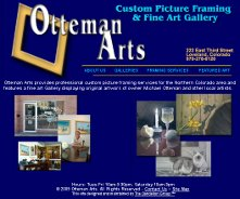 The home page for Otteman Arts